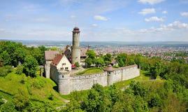 Altenburg Kasteel dichtbij Bamberg, Duitsland royalty-vrije stock fotografie