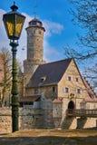 Altenburg slott, Bamberg, Tyskland Royaltyfri Fotografi