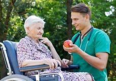 Altenpflege Lizenzfreies Stockfoto