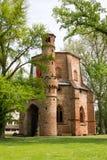 Alter Abtei- und Ginkgobaum, mettlach Stockfotos