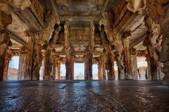 Alter Achyutaraya-Tempel in Hampi Stockbild