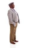 Alter afroer-amerikanisch Mann Lizenzfreies Stockfoto