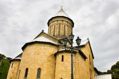 Alter alter Tempel in Tiflis Stockbild