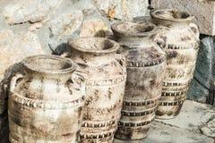 Alter Amphora Stockfoto