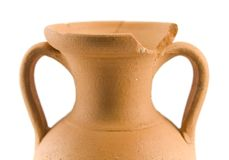 Alter Amphora Lizenzfreie Stockfotos