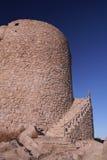 Alter Aragon-Kontrollturm stockbilder