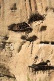 Alter Aufenthaltsort eines Einsiedlers auf Felsen Meteora Lizenzfreies Stockfoto