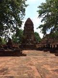 Alter Ayutthaya Thailand stockfotos