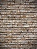 Alter Backsteinmauer-Hintergrund Stockbild