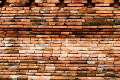 Alter Backsteinmauer-Hintergrund Lizenzfreies Stockbild