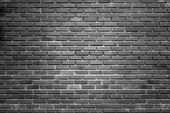 Alter Backsteinmauerabschluß des Backsteinmauerhintergrundes herauf schwarzen Backsteinbau Lizenzfreies Stockbild