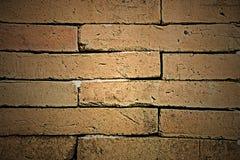 Alter Backsteinmauerbeschaffenheitshintergrund Stockbilder