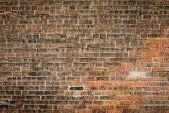 Alter Backsteinmauerbeschaffenheitsmuster-Schmutzhintergrund Lizenzfreie Stockfotografie