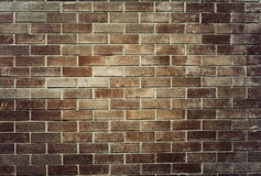 Alter Backsteinmauerhintergrund Lizenzfreies Stockbild