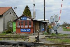 Alter Bahnhof, Tschechische Republik, Europa Lizenzfreie Stockfotos