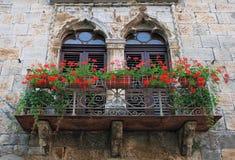Alter Balkon Stockbilder