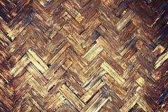 Alter Bambusbeschaffenheitshintergrund Lizenzfreie Stockfotografie