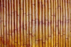 Alter Bambushintergrund Lizenzfreies Stockfoto