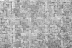 Alter Bambuswand Landhausstil Stockbild