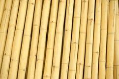 Alter Bambuswandhintergrund Stockbild