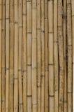 Alter Bambuswandhintergrund Stockfoto
