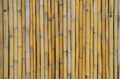 Alter Bambuswandhintergrund Lizenzfreies Stockbild