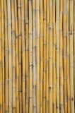 Alter Bambuswandhintergrund Stockfotografie