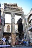 Alter Basar in Damaskus vor dem Krieg Lizenzfreie Stockfotografie