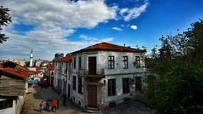 Alter Basar Skopjes lizenzfreie stockfotos