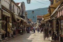 Alter Basar von Skopje lizenzfreie stockbilder