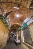 Alter Basar von Tabriz, der Iran stockbilder