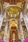 Alter Basilika-Schrein von Guadalupe Mexiko City Mexiko Stockfoto
