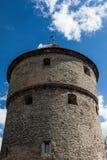 Alter Bastionkontrollturm Lizenzfreie Stockfotografie