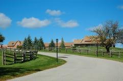 Alter Bauernhof stockfotografie