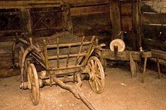 Alter Bauernhof stockbild
