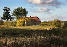 Alter Bauernhof Lizenzfreie Stockfotografie
