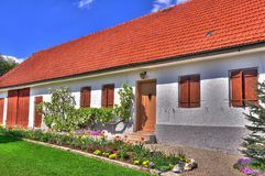 Alter Bauernhof HDR. Ein alter bauernhof in bayern HDR Royalty Free Stock Photo
