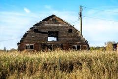 Alter Bauernhof-Stall Stockfoto