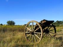 Alter Bauernhoflastwagen lizenzfreie stockfotografie