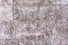 Alter Betonblockhintergrund stockfotos