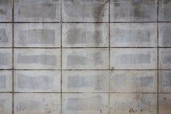 Alter Betonblockwandhintergrund Lizenzfreie Stockbilder
