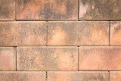 Alter Betonblockwandhintergrund Lizenzfreies Stockbild
