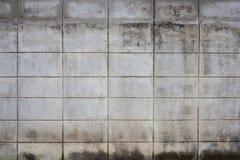 Alter Betonblockwandhintergrund Stockfotografie