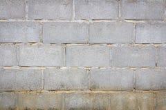 Alter Betonblockwandhintergrund Lizenzfreies Stockfoto