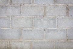 Alter Betonblockwandhintergrund Lizenzfreie Stockfotos