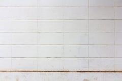 Alter Betonblockwandhintergrund Stockbild