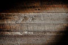 Alter beunruhigter hölzerner Vorstand-Planke Grunge Hintergrund Stockfoto