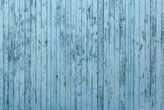 Alter blauer hölzerner Hintergrund oder Beschaffenheit Stockbild