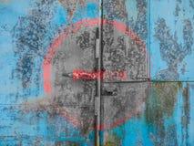 Alter blauer Hintergrund lizenzfreie stockfotografie