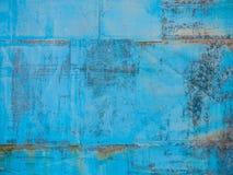 Alter blauer Hintergrund stockfoto